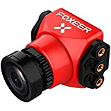 Foxeer Arrow Mini Pro FPV Camera Built-in OSD Plastic Case - NTSC - IR block - 2.5mm - Red
