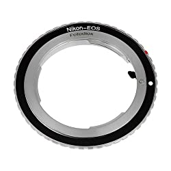 Fotodiox Lens Mount Adapter - Nikon Nikkor F Mount Dslr Lens To Canon Eos (Ef, Ef-s) Mount Slr Camera Body