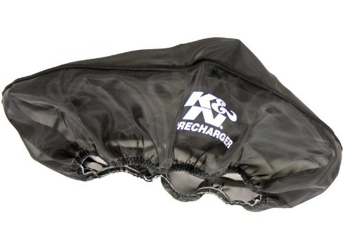 """K&N 22-1430PK Black Precharger Filter Wrap - For Your 14""""x3"""" Round Filter"""