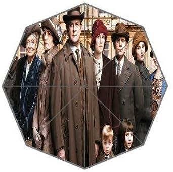 G-Smart Downton Abbey temporada 6 Custom lluvia paraguas impermeable plegable paraguas paraguas de viaje: Amazon.es: Ropa y accesorios