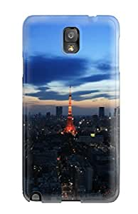 Mark Gsellman Andrews's Shop Tpu Shockproof/dirt-proof Tokyo Tower Cover Case For Galaxy(note 3)