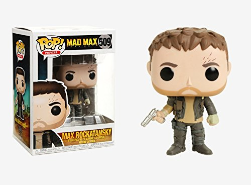 Funko Pop! Movies: Mad Max Fury Road Max with Gun Collectible Figure (Mad Figurine Max)