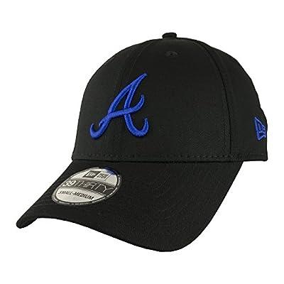 New Era 39THIRTY MLB Black Base 39 Atlanta Braves Cap