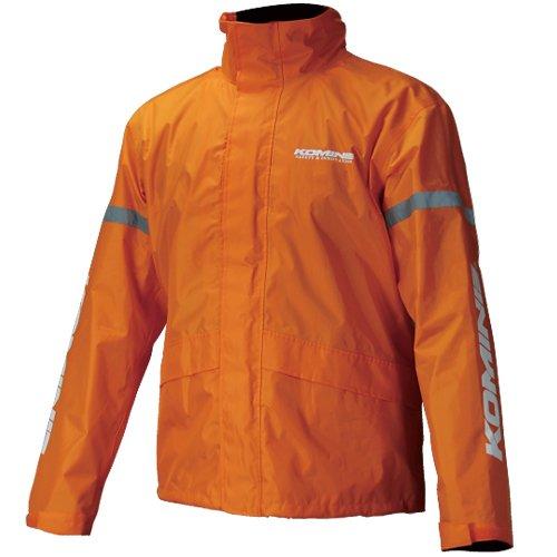 雨具 レインパンツ バイク 3XLB 03-539 RK-539 レッド レインウェア KOMINE ブレスター フィアート 上下セット 防水 カッパ コミネ レインスーツ