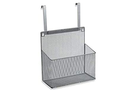 Org Metal Mesh Kitchen Cabinet Organizer Hung Over Cabinet Door Or Mounted 1