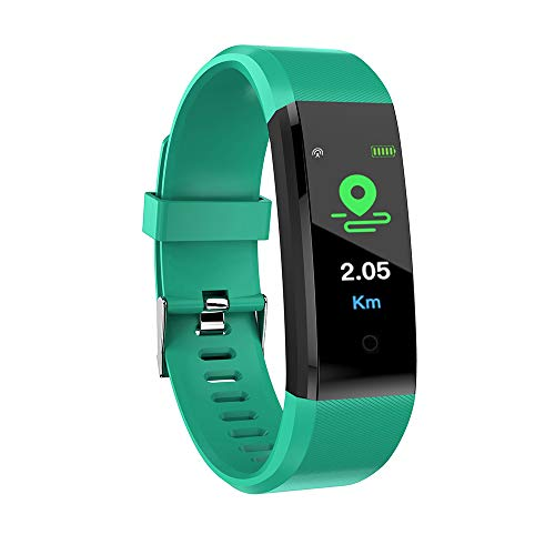 Cucudy Smartband,Smartwatch com funções Heart Rate Monitoramento de Pressão Arterial Calorie Aptidão À Prova D 'Água BT…