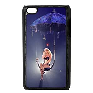 J-LV-F Phone Case Britney Spears,Customized Case For Ipod Touch 4
