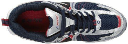 Hi-Tec Fulcrum - zapatillas de running de cuero hombre azul - Navy/Silver/Red