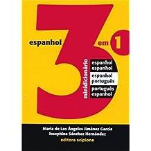 Minidicionário De Espanhol 3 Em 1 - Coleção Dicionários