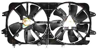 (TYC 620450 Mazda 626 Replacement Radiator/Condenser Cooling Fan Assembly)