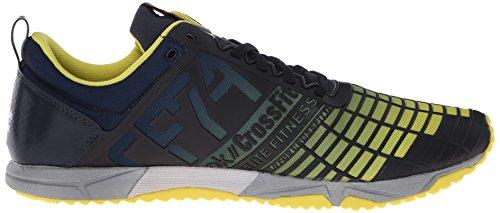 Mens Stinger Shoe Crossfit Reebok Navy Silver Yellow Training Metallic TR Reebok Sprint ad8Hqw81