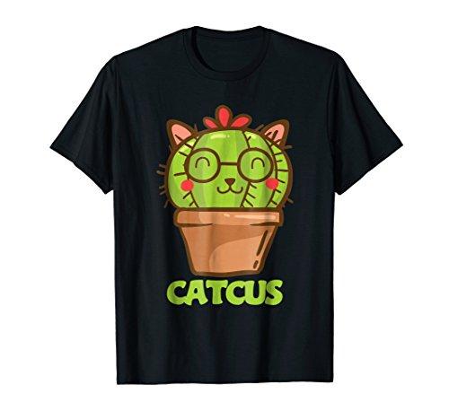 Catcus Cat Cactus Cat Humor Cat Pun Funny Cat Lover T Shirt]()