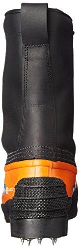 Steel Footwear Tusk Boot Toe Caulk Black Black Orange Waterproof Viking XFfqq