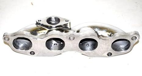 Fundido colector de acero inoxidable 02 - 06 Acura RSX Base Coupe/02 - 05 Civic Si EP3 K20: Amazon.es: Coche y moto
