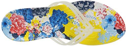Crocs Dames Isabella Grafische Flip-flop Oester / Bloemen