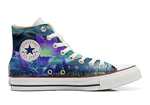 Converse All Star Customized - zapatos personalizados (Producto Artesano) Fiori Fantasy