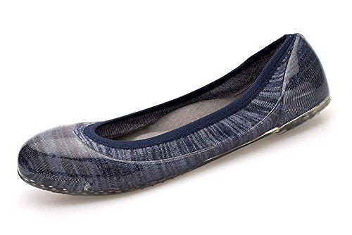 Scarpe Da Donna Da Donna Stile Vintage Per Tutti I Giorni Indossando Strisce Indaco Guida