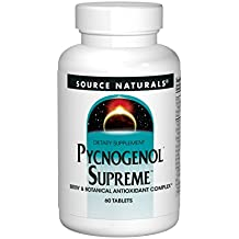 Source Naturals Pycnogenol Supreme, Berry & Botanical Antioxidant Complex