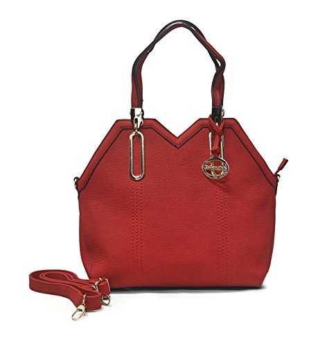 Sorrentino Sori Collection No. 756 Shape Tote (Red)