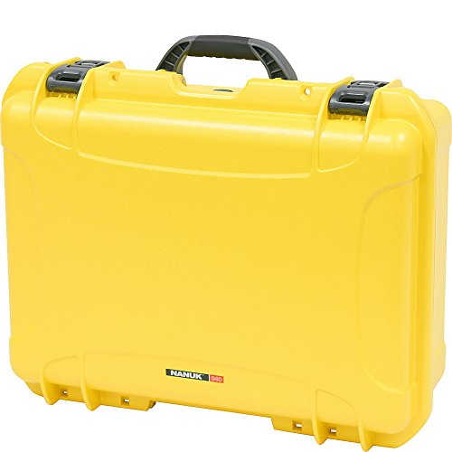 Nanuk 940 Waterproof Hard Case with Padded Dividers - Yellow
