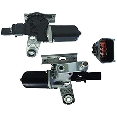 New Front Wiper Motor W/Crank Arm For 2003 2004 2005 2006 2007 2008 2009 2010 Dodge Ram 1500 2500 3500, 55077098AH, 55077098AJ, 55077098AK