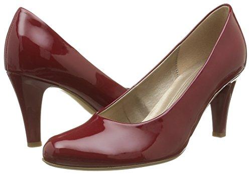 Basic Donna Rosso Tacco absatz cherry Scarpe Con Gabor UwORdqU