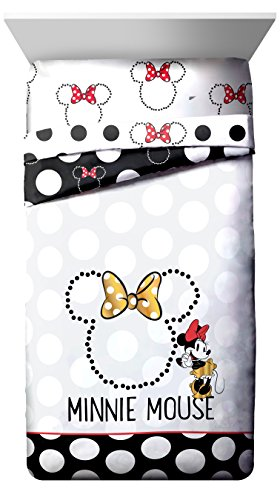 Disney Minnie Mouse Classic Dots Couture Twin Reversible - Disney Couture Accessories