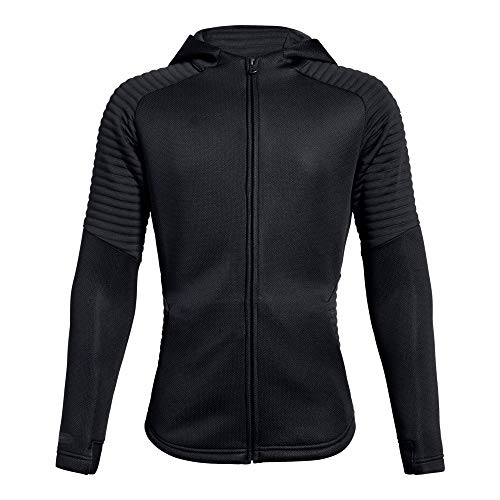 - Under Armour Boys Move Full Zip, Black (001)/Black, Youth X-Large