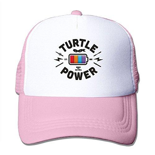 WYF Turrle Power Battery Design Outdoor Mesh Hat Visor Snapb