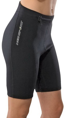 NeoSport Wetsuits XSPAN Shorts, Black, XX-Large - Diving, Snorkeling & Wakeboarding
