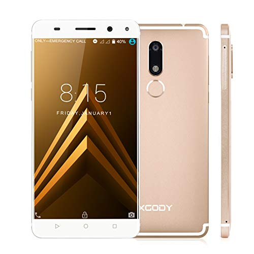 Cheap Xgody D22 5.5'' Android 7.0 Nougat with Fingerprint 4G FDD-LTE Smart Phone Unlocked MTK6737 Dual Camera (13MP+5MP) GPS WIFI HD Screen Cellphone Unlocked