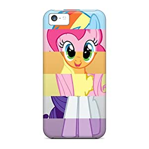 Shockproof Cell-phone Hard Covers For Iphone 5c (YnW343IDAw) Support Personal Customs Stylish My Little Pony Friendship Is Magic Image
