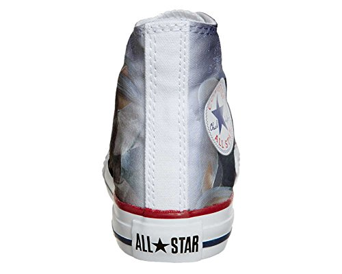 Converse Customized Adulte - chaussures coutume (produit artisanal) elf Style