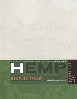 "product image for Hemp Drawing Paper Pack 11"" x 14"""