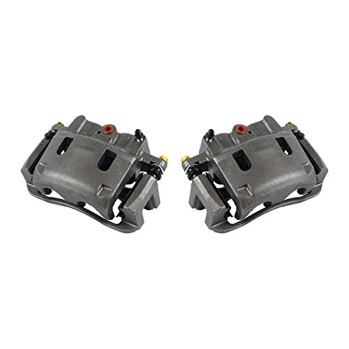 CKOE01484 [ 2 ] FRONT Premium Grade OE Semi-Loaded Caliper Assembly Pair Set