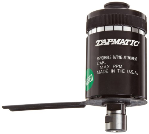 Tapmatic RX 30 Self-Reversing Tapping Head, #33JT Taper Mount, #0 - 1/4'' and M1.4-M7 Capacity by Tapmatic