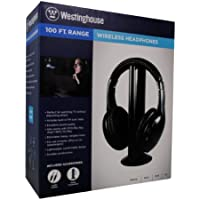 Westinghouse WES-WH920GB Wireless On-Ear Stereo Headphones for MP3 Players, iPods and iPhones