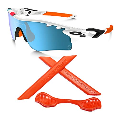 New Rubber Kit Ear Socks and Nose Pads for Oakley RadarLock Path Glasses Sunglasses Replacement ()
