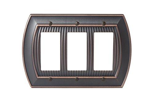 - Amerock BP36534ORB Allison 3 Rocker Wall Plate - Oil-Rubbed Bronze