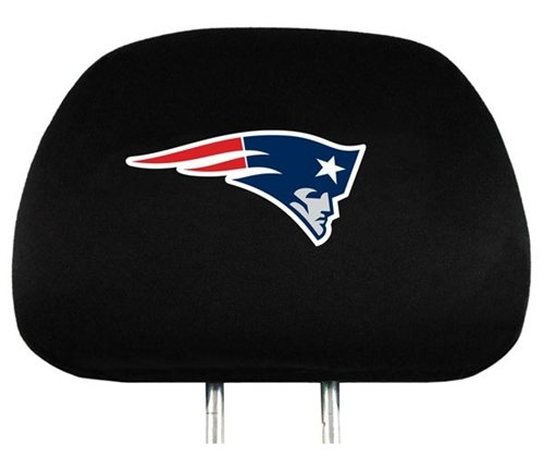 new england patriots headrest covers price compare. Black Bedroom Furniture Sets. Home Design Ideas
