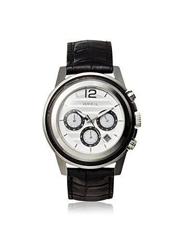 Breil Watch, Men's Chronograph Orchestra Black Croc Leather Strap 45mm TW1191