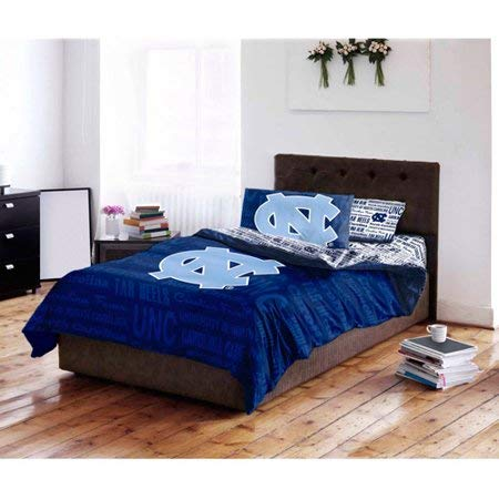 Bed-in-a-Bag North Carolina Tar Heels Complete Bedding Set Twin