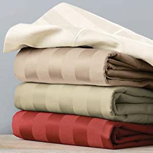 Better Homes And Gardens 400 Thread Count Egyptian Cotton Damask Stripe Sheet Set
