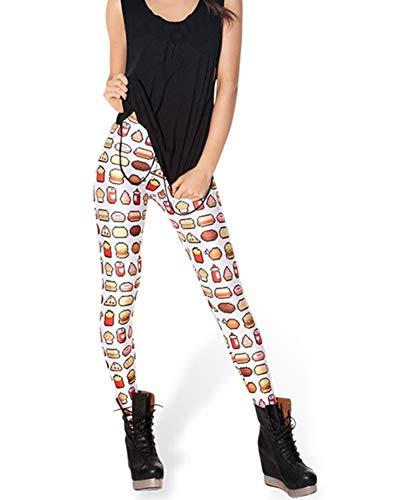 Mujer Abchic Leggings 33 De Multicolores vYYfEqw6