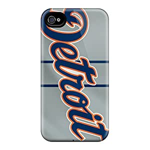 AlisaDepartment Design High Quality Detroit Tigers Cover Case With Excellent Style For Iphone 4/4s