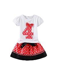 Mud Kingdom Little Girls Birthday Clothes