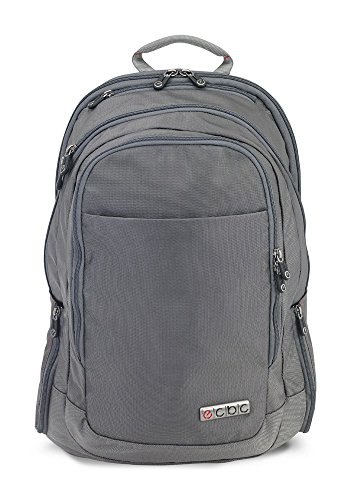ECBC Backpack Computer Bag - Lance Daypack for Laptops, MacBooks & Devices Up to 16.5'' - Travel, School or Business Backpack for Men & Women - Premium Quality, TSA FastPass Friendly - Grey (B7103-30) by ECBC