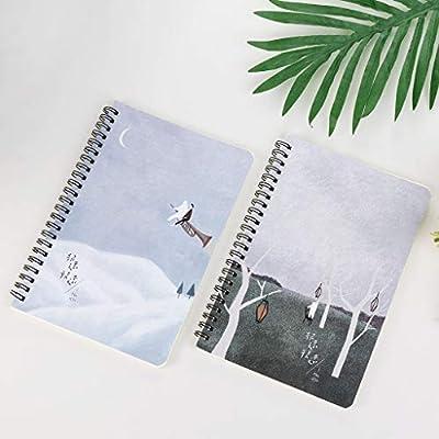 RROVE 4pcs / Set A5 Cuaderno Engrosado Agenda Agenda ...