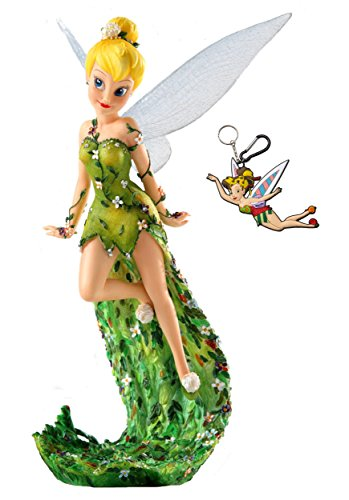 Tinker Bell Haute Couture Collectible Figurine & Keychain Multi-Pack Gift Set
