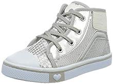 PRIMIGI Sneaker PRIMI PASSI Bambina, Zapatillas para Bebés, Plateado (Argento 5445811), 20 EU